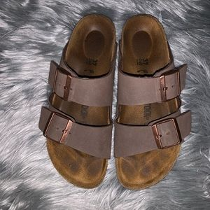Mocha Birkenstock 2 strap sandal
